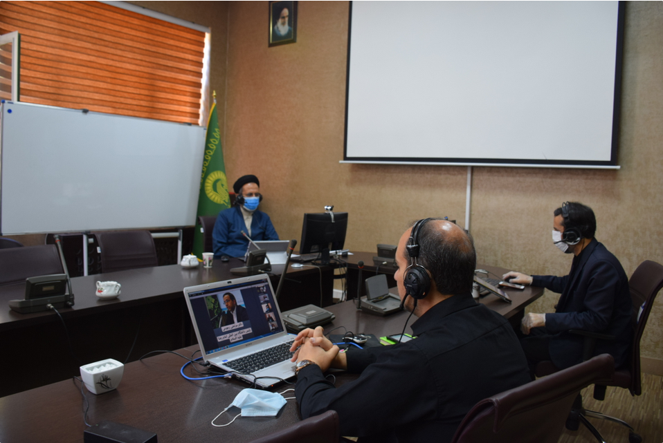"""AQR holds 1st national webinar of """"Imam Reza (AS) and Science of the Day"""""""