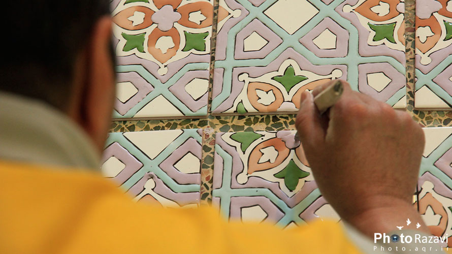 Holy shrine shines after three decades of artistic work