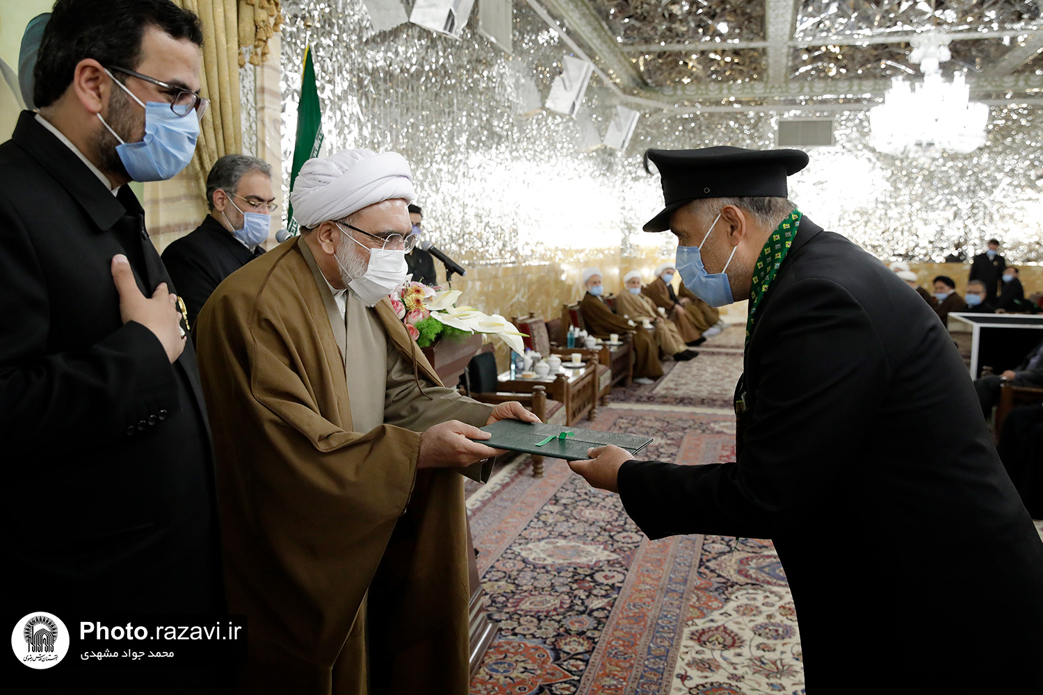 Confer of Razavi Servants' Decrees by Grand Custodian of Astan Quds Razavi