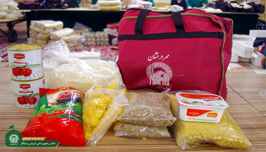 Imam Reza (AS) servants distribute thousands of food packages across the country in Ramadan