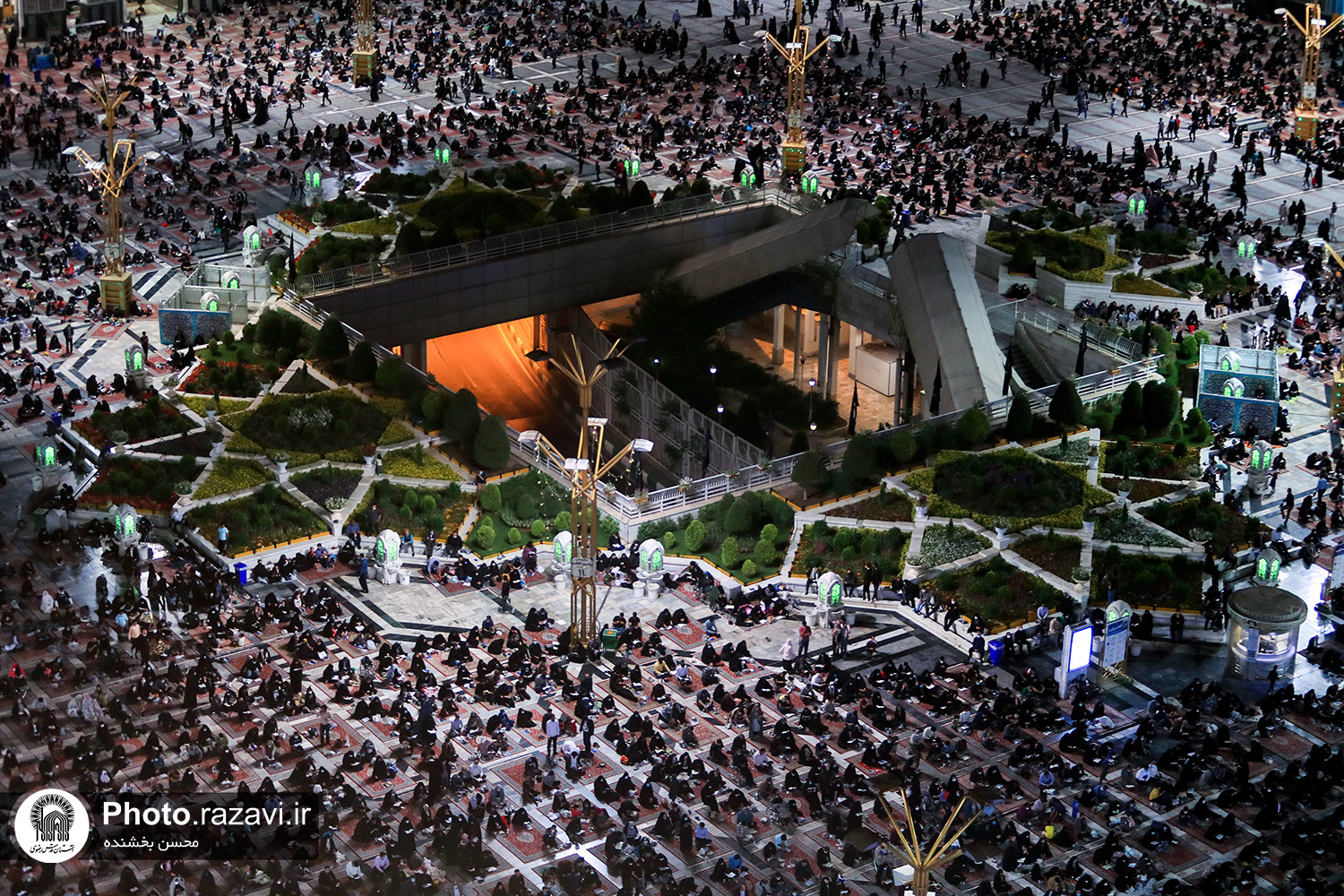Vigil on the Night of 19 Ramadan at Razavi Holy Shrine