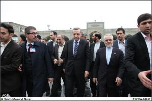 Attendance of Turkey Prime Minister and his accompanying delegation at the holy shrine of Imam Reza (A.S.)