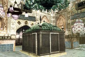 The Third Holy Zarih (Burial Chamber)of Imam Reza (A.S.)