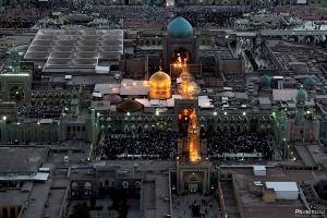 Airscape of the Razavi Holy Shrine