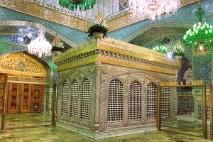 Holy Burial Chamber of Imam Reza (A.S.)