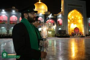 Sermon Reading on Martyrdom Night of Imam Reza (A.S.) at Razavi Holy Shrine