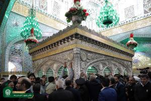 Syrian cultural activists, Iraqi Sunni scholars visit Imam Reza (AS) holy shrine