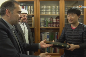 Newly converted Korean says was attracted by Muslims' good behavior