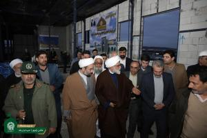 AQR chief custodian inspects economic projects in Zahedan
