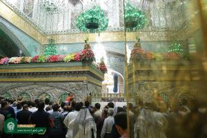 Georgian pilgrims visit Imam Reza (AS) holy shrine