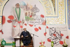 "AQR holds ceremony in appreciation of ""Africas Ibrahim"" at Imam Reza (AS) holy shrine"