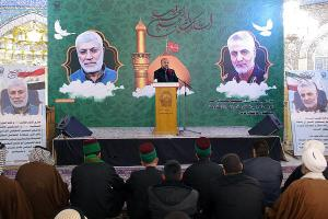 Iraqi sheikhs and tribal chieftains commemorate martyr Soleimani