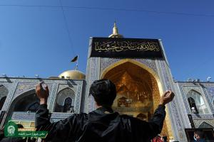 Atmosphere of the Holy Shrine of Imam Reza (AS) in the Day of Ashura