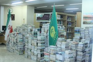 AQR donates over 15k books to Iran's scientific, educational centers