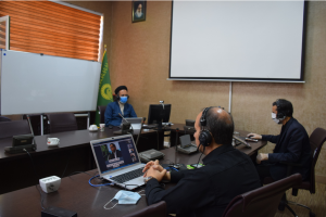 "AQR holds 1st national webinar of ""Imam Reza (AS) and Science of the Day"""