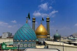 The latest images of the tomb of Imamzadeh Abdolazim Hassani in Tehran