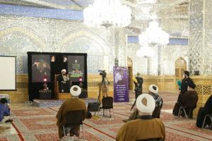 AQR hold commemoration ceremony for Dr. Jalaluddin Rakhmat in Imam Reza (AS) holy shrine