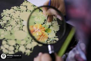 Fifty Iranian artists make calligraphies of holy Quran in Imam Reza (AS) holy shrine