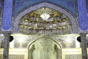Artistic Beauty of Dar al-Marhama in the holy shrine of Imam Reza (AS)