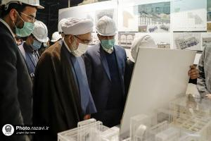 Chief Custodian of Astan Quds Razavi visits the construction projects of the holy shrine