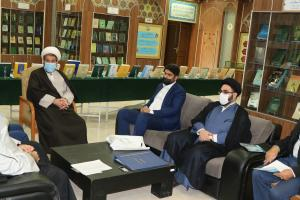 Imam Hussein (AS) holy shrine officials visit AQR' Islamic Research Foundation