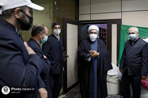 Unannounced visit of the chief custodian of Astan Quds Razavi to different sections of the holy shrine