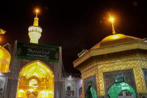 The Atmosphere of Razavi Holy Shrine on the Birthday Anniversary Night of Imam Ali (A.S.)