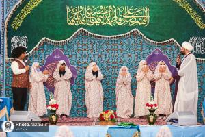 International Taklif (age of religious responsibility) Celebration for girls in the holy shrine of Imam Reza (AS)
