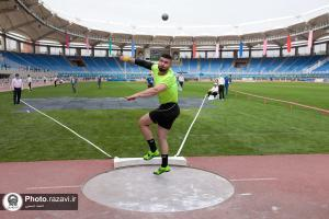 The first round of the Imam Reza (AS) International Athletics Championships