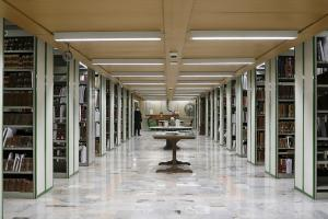 People dedicate thousands of books to AQR's library