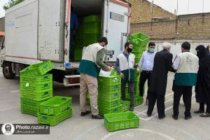 AQR distributes iftar meals among the people of Mashhad