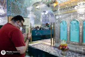 Head of International Red Cross office in Iran visits Imam Reza (AS) holy shrine
