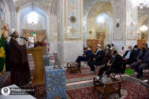 Reps. of the divine religions speak on character of Imam Reza (AS)