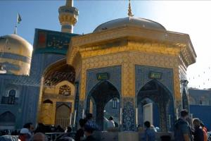 Photos of Imam Reza (AS) holy shrine during his birthday celebrations in 2021