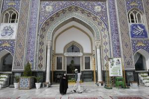 How to find missing persons at Imam Reza holy shrine?