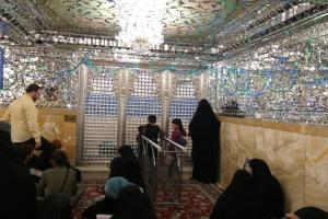 Luminaries resting in peace within the shrine confines: Sheikh Horr Ameli