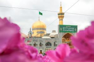 Belarusian lady converts to Islam at Imam Reza (AS) holy shrine